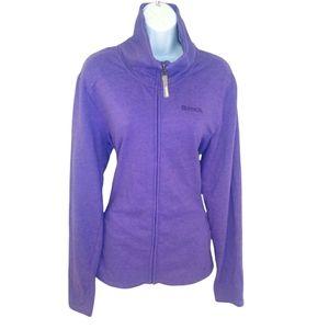 Bench purple zip up sweater/jacket XL